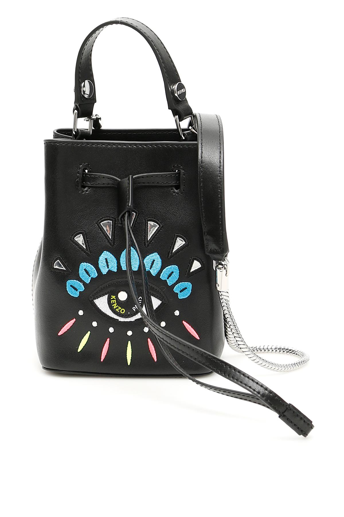 6743c696b8c Product Information. 295,00€. Kenzo leather bucket bag with ...