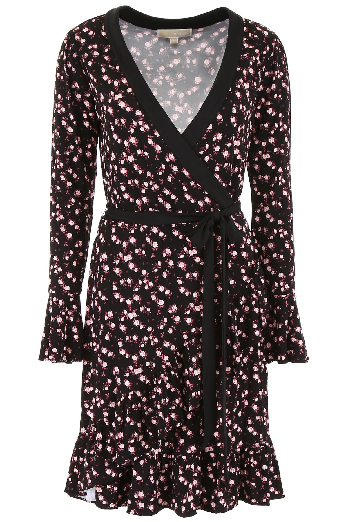Vestido Michael Kors Estampado Floral Volantes